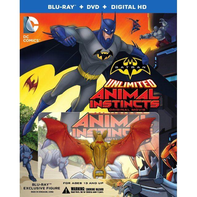 Batman Unlimited: Animal Instincts (w/ Figure)