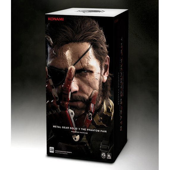 Metal Gear Solid V: The Phantom Pain [Premium Package Konami Style Limited Edition]