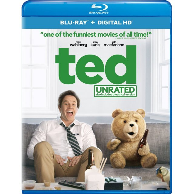 Ted (Unrated Edition) [Blu-ray+Digital Copy)