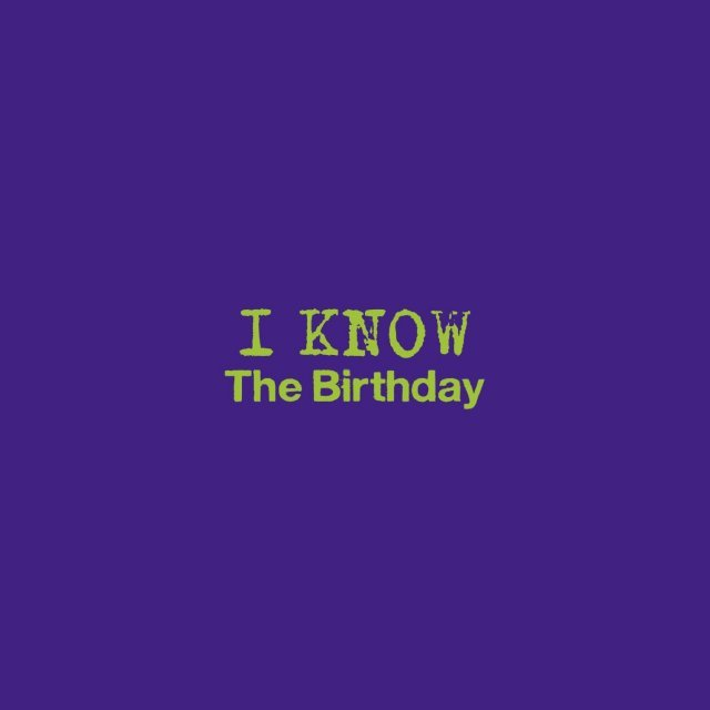 I Know [CD+DVD Limited Edition]