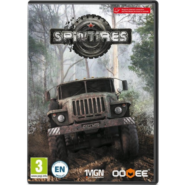 SpinTires (DVD-ROM)