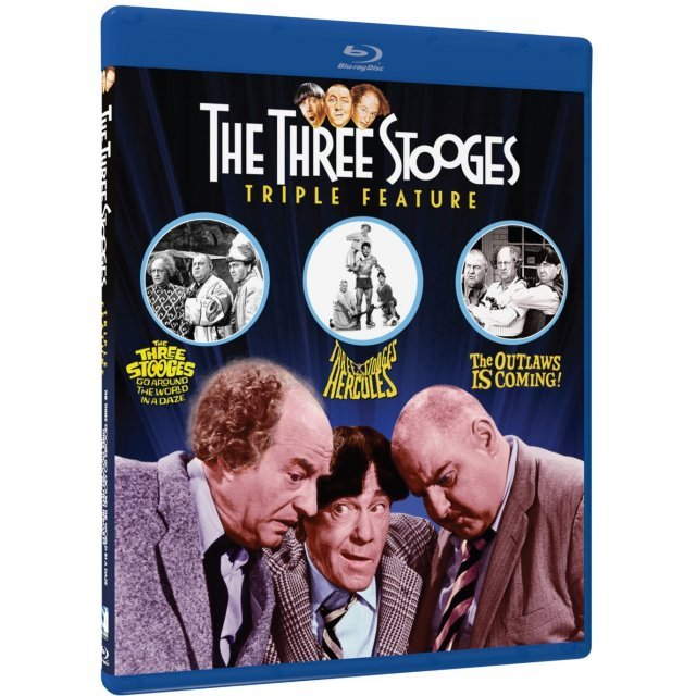 The Three Stooges Collection - Volume Two - Triple Feature