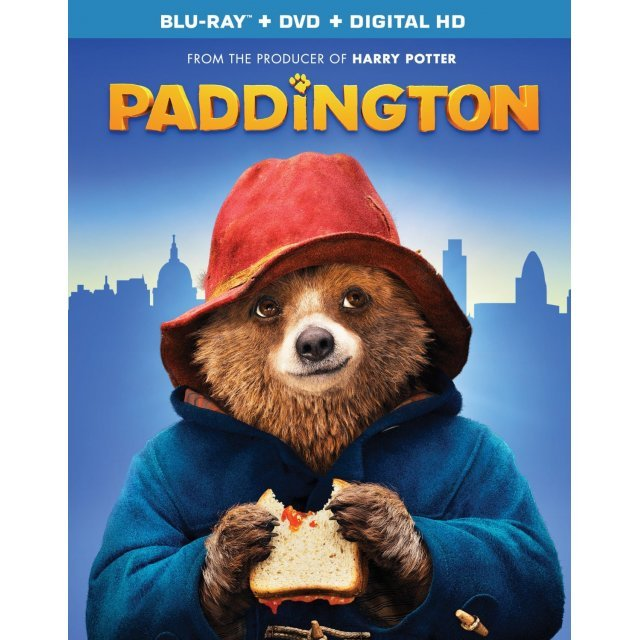 Paddington [Blu-ray+DVD+UltraViolet]