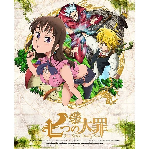 Seven Deadly Sins Vol.4 [Blu-ray+CD Limited Edition]