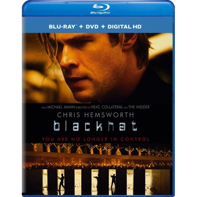 Blackhat [Blu-ray+DVD+Digital Copy+UltraViolet]
