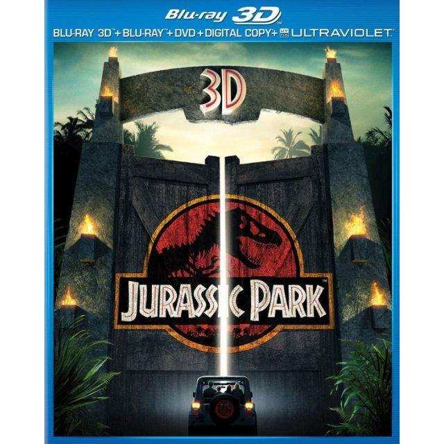 Jurassic Park 3D [Blu-ray+DVD+UltraViolet]