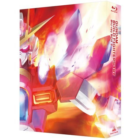 Gundam Build Fighters Try Blu-ray Box 2 Standard Edition [Limited Pressing]