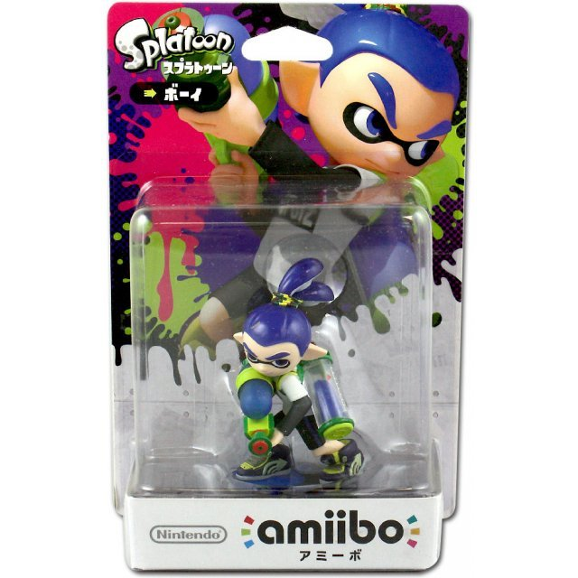 amiibo Splatoon Series Figure (Boy)