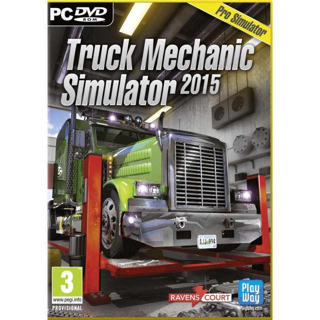Truck Mechanic Simulator 2015 (DVD-ROM)