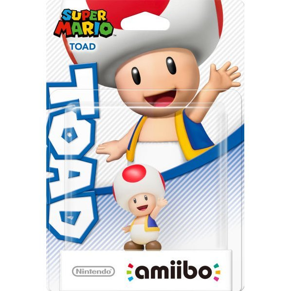amiibo Super Mario Collection Figure (Toad)