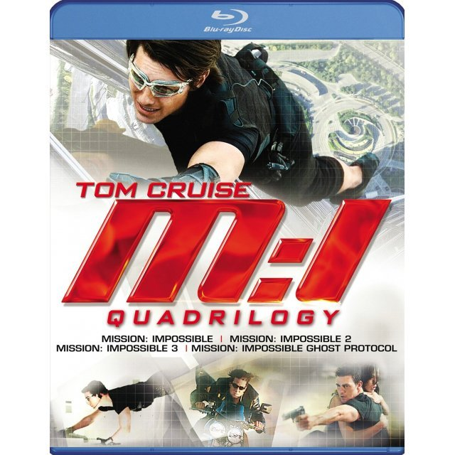 Mission: Impossible Quadrilogy [Blu-ray+DVD+Digital Copy+UltraViolet]