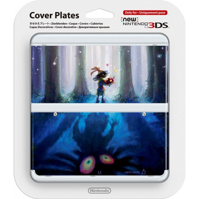 New Nintendo 3DS Cover Plates No.056 (The Legend of Zelda Majora's Mask 3D) (Re-run)