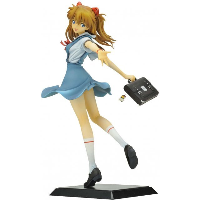 Rebuild of Evangelion 1/6 Scale Pre-Painted Figure: Shikinami Asuka Langley School Uniform Ver.