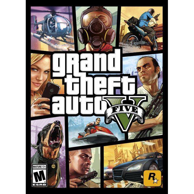 Grand Theft Auto V Rockstar SocialClub digital