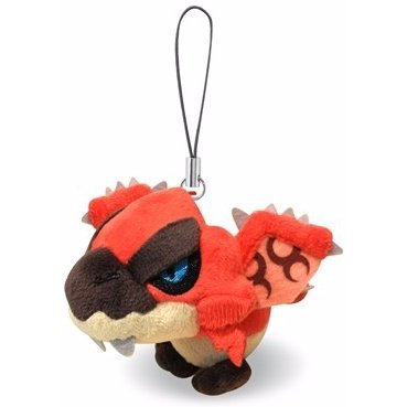Monster Hunter Mini Mascot Plush: Rioreus (Re-run)