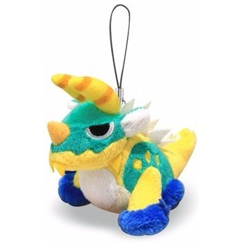 Monster Hunter Mini Mascot Plush: Zinogre (Re-run)
