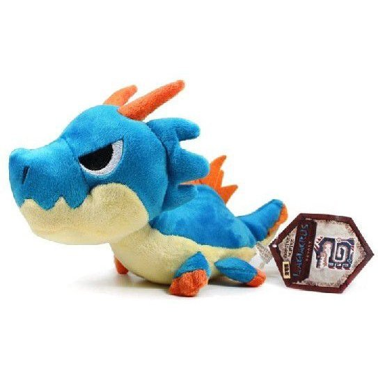 Monster Hunter Monster Plush Doll: Lagiacrus (Re-run)