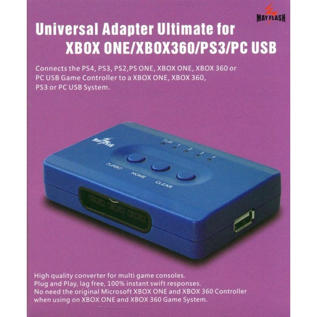 Universal Adapter Ultimate for Xbox One / Xbox 360 / PS3 / PC USB
