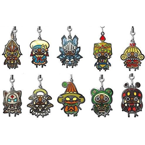 Capcom Monster Hunter 4 Stained Design Mascot Collection Vol.3 (Set of 10 pieces)