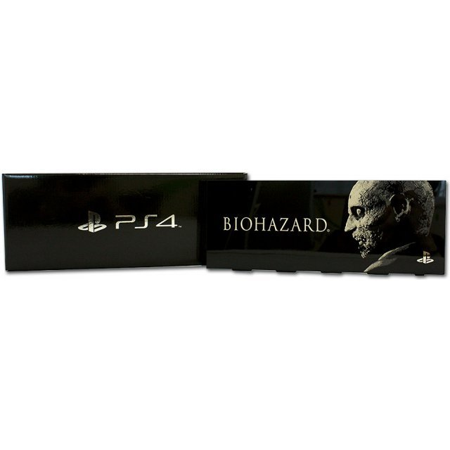 PlayStation 4 HDD Bay Cover Biohazard Zombie Version (Black)