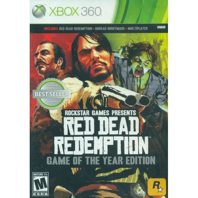 Red Dead Redemption: Game of the Year Edition (Platinum Hits)