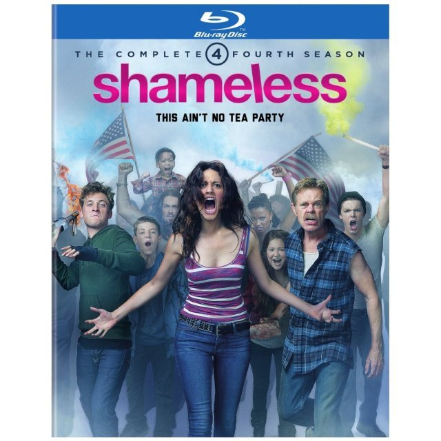 Shameless: The Complete Fourth Season [Blu-ray+DVD]
