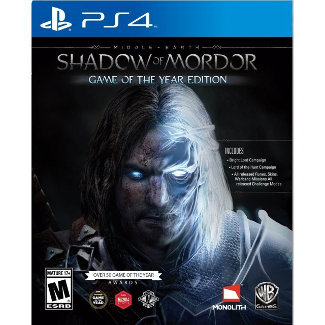 Middle-earth™: Shadow of Mordor™ - Game of the Year ...