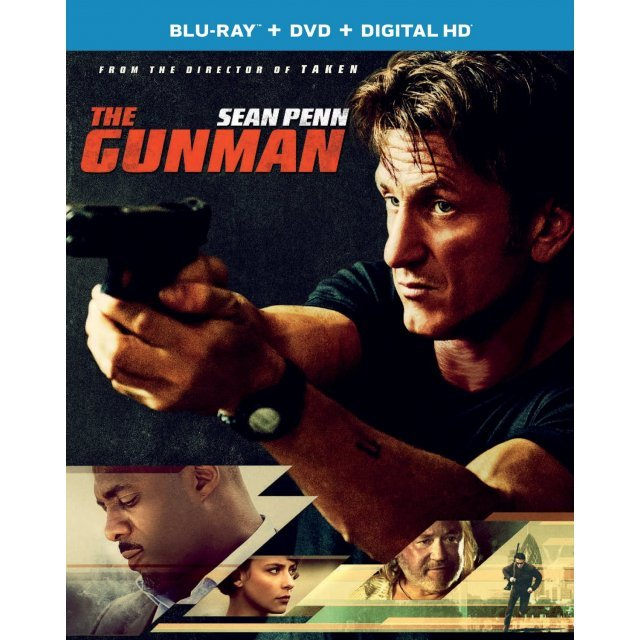 The Gunman [Blu-ray+DVD+UltraViolet]