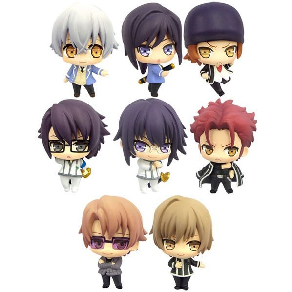 Color Collection Gakuen K -Wonderful School Days- (Set of 8 pieces)