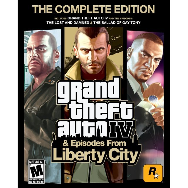 Grand Theft Auto IV (Complete Edition) (Steam)