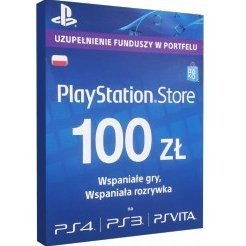 PlayStation Network Card (PLN 100 / for PL network only)