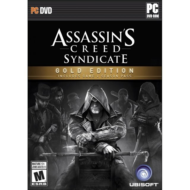 Assassin's Creed Syndicate (Gold Edition) (DVD-ROM)