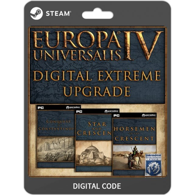 Europa Universalis IV: Digital Extreme Edition Upgrade Pack [DLC]