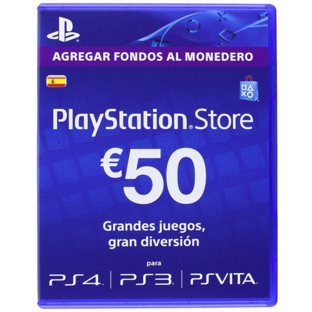 PSN Card 50 EUR | Playstation Network Spain