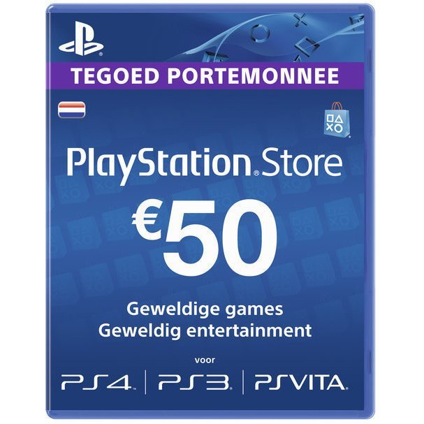 PlayStation Network Card (EUR 50 / for NL network only)