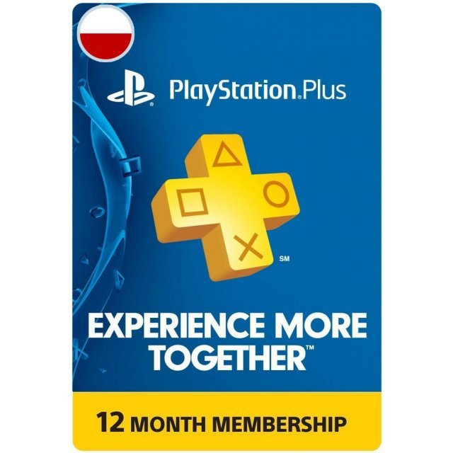 PSN Card 12 Month | Playstation Plus Poland