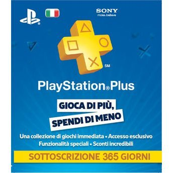 PlayStation Plus 365 Day Subscription [Italy]