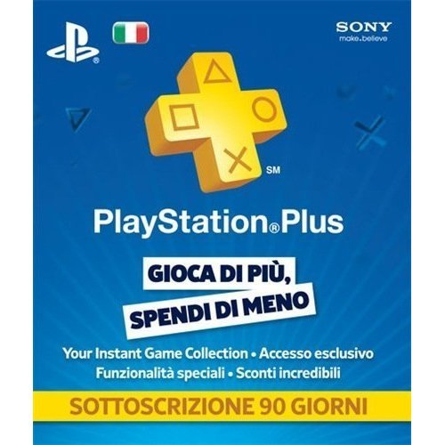 PlayStation Plus 90 Day Subscription [Italy]