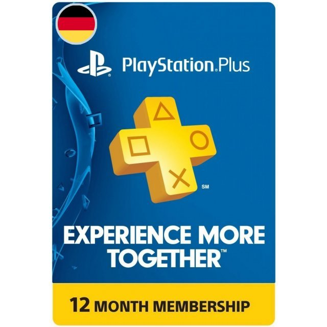 PSN Card 12 Month   Playstation Plus Germany