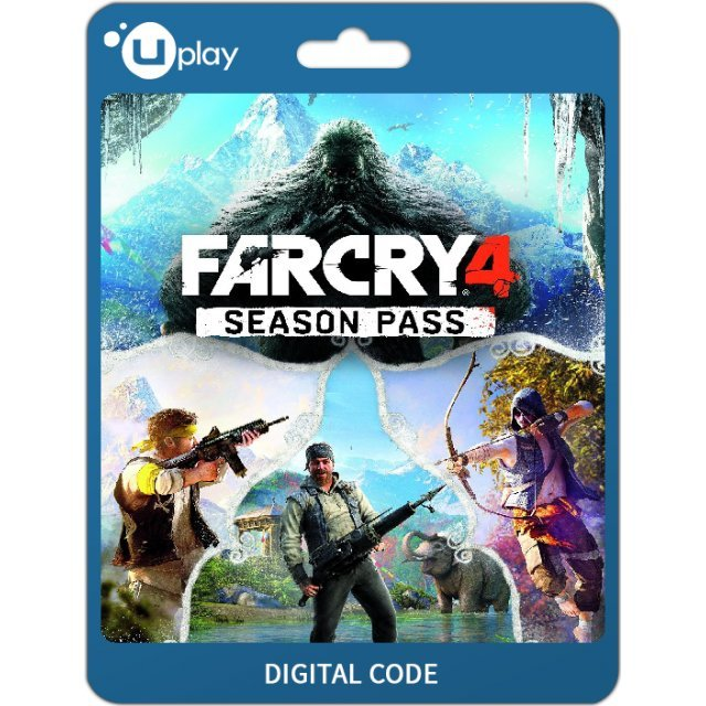 Far Cry 4 Season Pass Dlc Uplay Digital