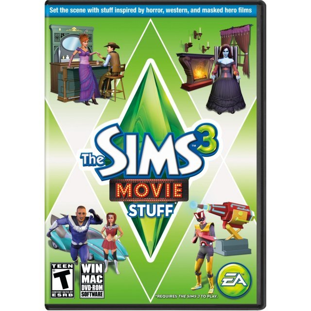 The Sims 3: Movie Stuff [DLC] (Origin) origin digital