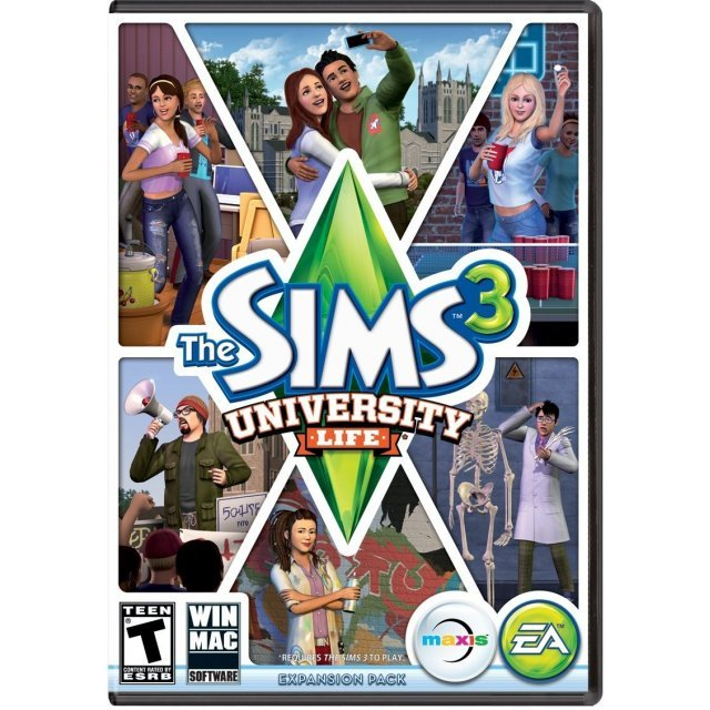 The Sims 3: University Life [DLC] (Origin)