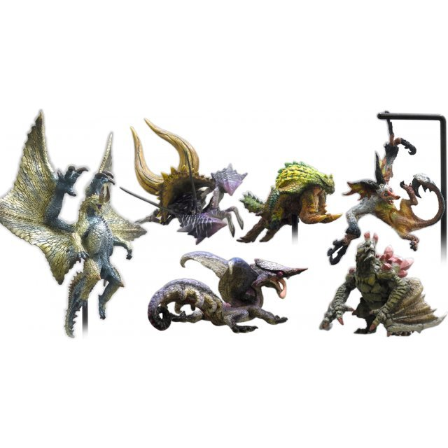 Capcom Figure Builder Monster Hunter: Standard Model Plus Vol.2 (Set of 6 pieces) (Re-run)