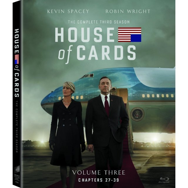 House of Cards: The Complete Third Season [Blu-ray+UltraViolet]
