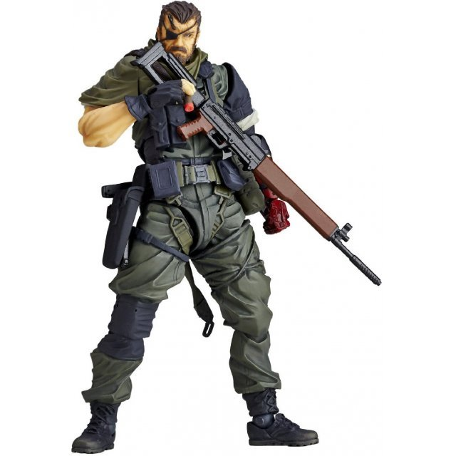 Micro Yamaguchi Revol Mini rm-015 Metal Gear Solid V The Phantom Pain: Venom Snake Olive Drab Army Fatigues Ver.