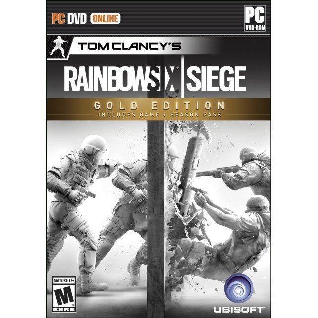 Tom Clancy's Rainbow Six Siege (Gold Edition) (DVD-ROM)