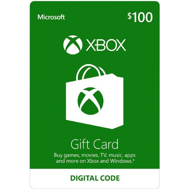 Xbox Gift Card USD 100