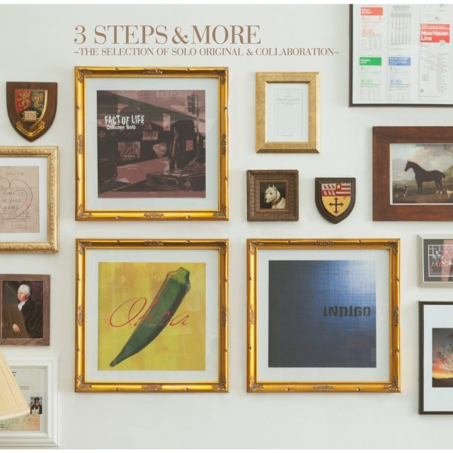 3 Steps & More - The Selection Of Solo Original & Collaboration [2CD+DVD Limited Edition]