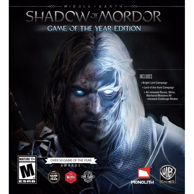 Middle-earth: Shadow of Mordor - Game of the Year Edition (Steam)
