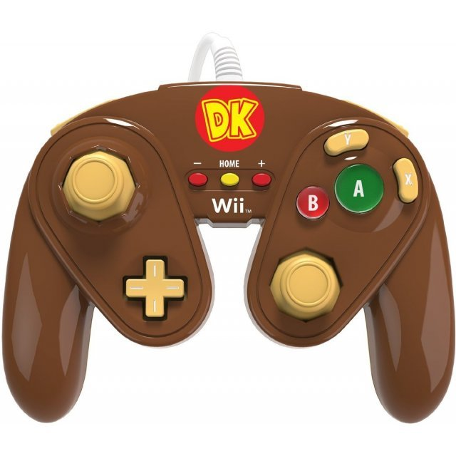 PDP Wired Fight Pad for WiiU (Donkey Kong)